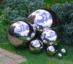gazing globes from 8 to 48