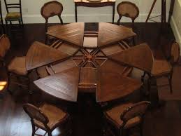 expandable round dining room tables creative round dining room tables for 6 with stylish design