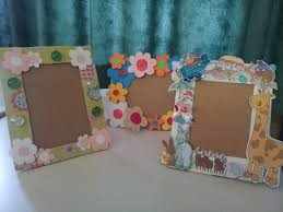 diy paper frame kids art my crafts pinterest paper