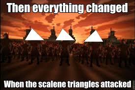 Scalene Triangle Meme - image 403142 ah the scalene triangle know your meme