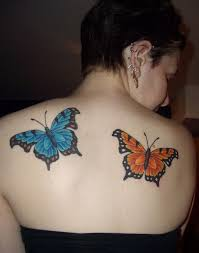 15 butterfly tattoos representing nature livinghours