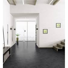 luvanto click 4mm black slate tile vinyl flooring leader floors