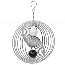 magic fashion rotating black white ornaments home decor wind