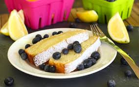 the best ever lemon burst pound cake