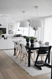 Black And White Dining Room Sets 20 Astonishing Scandinavian Dining Room Ideas Rilane