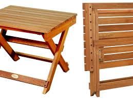 Patio Table Plans Patio 43 Teak Folding Patio Furniture With Brick Motif Tiles