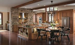 rustic kitchen cabinets with artistic design 2planakitchen