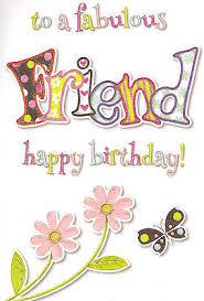 special good friend birthday card cute traditional female choose