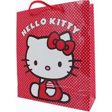 hello gift bags hello 32cm x 27cm pink pink polka dot gift bag