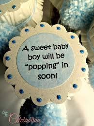 baby shower giveaways jar topper for baby popcorn mix shower favor at