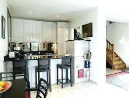 inspiration cuisine ouverte cuisine ouverte sur salon petit espace excellent meuble cuisine