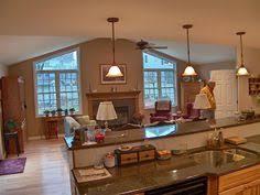 Kitchen Family Room Family Room Additions Granite Countertops Design Dream Home