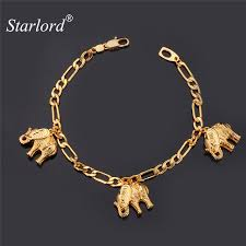 gold lucky charm bracelet images Starlord elephant bracelets for women men jewelry fashion charms jpg