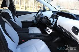 Interior Of Toyota Prius 2016 Toyota Prius Prototype Review Web2carz