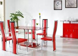 cheap red dining table and chairs red dining chairs red and white dining room 2 trendy red leather