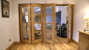 Folding Room Divider Doors Diy Room Divider From Bi Fold Doors