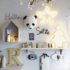 décoration murale chambre bébé 4 idées de trophées animaux pour la chambre bébé