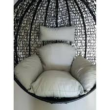 egg wicker chair replacement cushion set for swing egg pod wicker