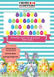 Easter Scavenger Hunt Easter Activities For Kids