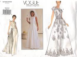 vintage wedding dress patterns popular wedding dress sewing patterns with vogue pattern bridal