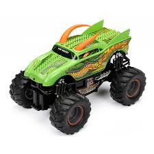 rc monster trucks grave digger new bright monster jam dragon remote controlled toy hayneedle