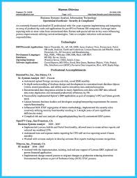 Business Analyst Profile Resume Sql Analyst Resume Free Resume Example And Writing Download