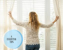 Curtain Tips by Make The Best Of Your Blinds And Curtains 6 Essential Tips