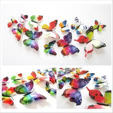 Large Butterfly Decorations by Kitchen Accessories Big Butterflies Decorations Purple Kitchen