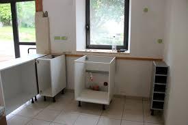 plan de travail meuble cuisine impressionnant fixer un plan de travail avec montage plan de travail