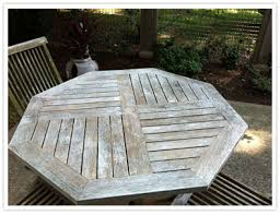Used Teak Outdoor Furniture by Weathered Teak Table And Chairs