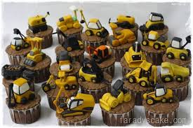 construction cake toppers caution ground breaking cakes and cupcakes construction