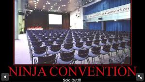 Conference Room Meme - ninja convention mosio audience q a live polls surveys and
