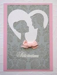 carte fã licitation mariage félicitations mariage idées scrapbooking cards