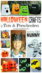 Halloween Crafts For Kindergarten 37 Cute U0026 Easy Halloween Crafts For Toddlers And Preschool Red