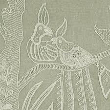 Upholstery Stitch Types Upholstery Fabric Linen Embroidered Tree Of Life With Birds