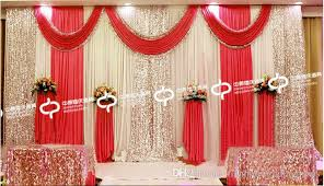 wedding stage decoration wedding props background shaman wedding stage decoration curtain