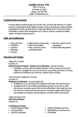 Resume Template For Medical Assistant How To Write An Effective Medical Assistant Resume