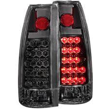 1998 chevy silverado tail lights anzo 311059 gm c k l e d tail lights black
