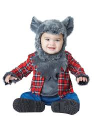 Werewolf Halloween Costumes Wittle Werewolf Infant Costume