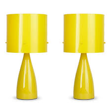 Cool Lamps Amazon by Table Lamp Pair Of Delatte Art Deco Table Lamps With Orange And