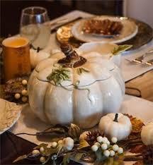 thanksgiving fall harvest ceramic pumpkin soup tureen serving bowl