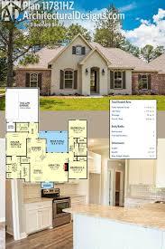 Plan 11781hz 3 Bedroom Beauty Open Living Area Traditional