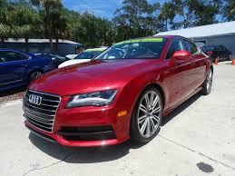 audi a7 for sale in florida 2013 audi a7 awd 3 0t quattro prestige 4dr sportback in smyrna