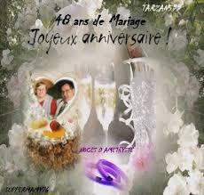 48 ans de mariage bon anniversaire de mariage 48 ans kado tarzan599 amour et amitiee
