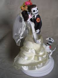 day of the dead wedding cake topper 21 best day of the dead wedding cake toppers by clay lindo images
