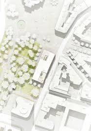 Architectural Site Plan | be baumschlager eberle opernplatz 2 frankfurt 4 urban