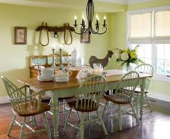 Country Dining Room Decor With Country Decor Accessories - Accessories for dining room