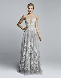 silver wedding dresses sparkling glittering silver wedding gowns