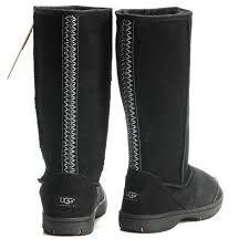 ugg boots sale genuine ugg braid boots 5340 black gh74 click image to