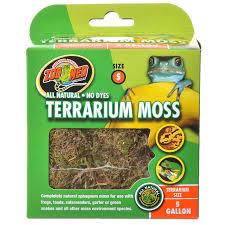 zoo med zoo med all natural terrarium moss reptile terrarium plants